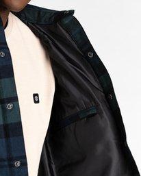 7 Lodge Flannel Shirt Black ALYJK00155 Element