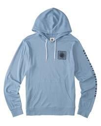 0 Ridge Art Hoodie Blue ALYKT00100 Element