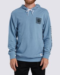 0 Ridge Art Hoodie Blue ALYKT00100 Element