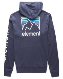1 Skinny Joint Ridge Pullover Hooded Thermal. Blue ALYKT00114 Element