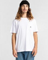 1 Basic Pocket Label Short Sleeve T-Shirt White ALYKT00121 Element