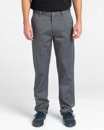 2 Howland Classic Chino Pants Grey ALYNP00105 Element