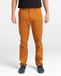 2 Howland Classic Chino Pants Brown ALYNP00105 Element