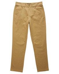 0 Sawyer Chino Pants Brown ALYNP00110 Element