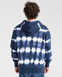 2 Blazin' Chest Tie-Dye Pullover Hoodie Blue ALYSF00114 Element