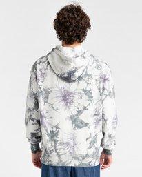 2 Blazin' Chest Tie-Dye Pullover Hoodie Grey ALYSF00114 Element