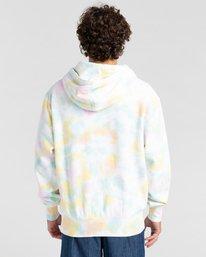 2 Blazin' Chest Tie-Dye Pullover Hoodie Yellow ALYSF00114 Element