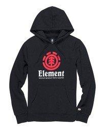 0 Vertical Pullover Hoodie Blue ALYSF00119 Element