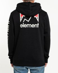 4 Joint Pullover Hoodie Blue ALYSF00120 Element