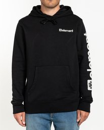 2 Joint Pullover Hoodie Blue ALYSF00120 Element