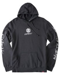 0 Dome Pigment Hoodie Blue ALYSF00132 Element