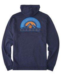 1 Sundown Pigment Pullover Hoodie Blue ALYSF00140 Element