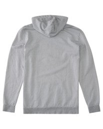 1 Balmor Pigment Pullover Hoodie Grey ALYSF00142 Element