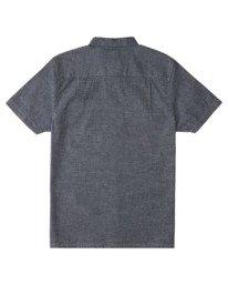 1 Vega Chambray Short Sleeve Shirt White ALYWT00115 Element