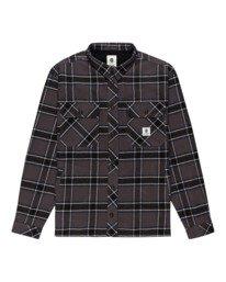 0 Wentworth Flannel Shirt Black ALYWT00116 Element