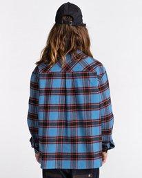 6 Wentworth Flannel Shirt Blue ALYWT00116 Element