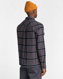 3 Wentworth Flannel Shirt Black ALYWT00116 Element