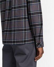 4 Wentworth Flannel Shirt Black ALYWT00116 Element