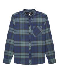 0 Lumber Long Sleeve Flannel Shirt Multicolor ALYWT00118 Element