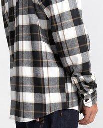 5 Lumber Long Sleeve Flannel Shirt Black ALYWT00118 Element