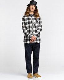 7 Lumber Long Sleeve Flannel Shirt Black ALYWT00118 Element