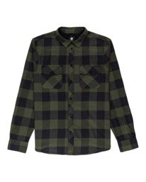 0 Tacoma Flannel Shirt Green ALYWT00121 Element