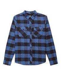 0 Tacoma Flannel Shirt Blue ALYWT00121 Element