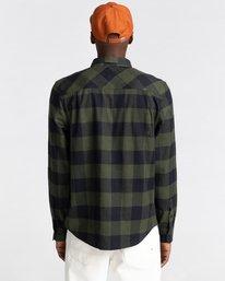 6 Tacoma Flannel Shirt Green ALYWT00121 Element