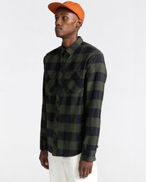 2 Tacoma Flannel Shirt Green ALYWT00121 Element