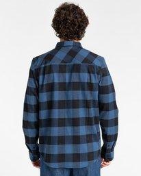 2 Tacoma Flannel Shirt Blue ALYWT00121 Element