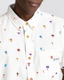 2 Shrooms Skyway Short Sleeve Shirt White ALYWT00123 Element