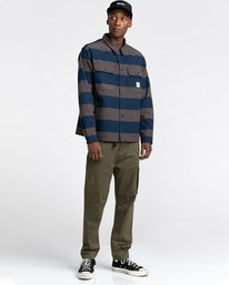 5 Wentworth Stripes Flannel Shirt  ALYWT00125 Element
