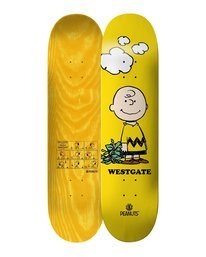 0 Peanuts Charlie Brown X Westgate Skateboard Deck Multicolor ALYXD00118 Element