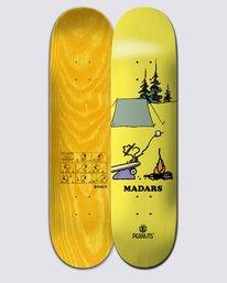 0 Peanuts Woodstock X Madars Skateboard Deck Multicolor ALYXD00120 Element