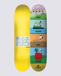 0 Peanuts x Element Wind Water Fire Earth Skateboard Deck  ALYXD00125 Element