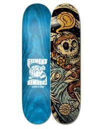 0 Timber High Dry Skull Skateboard Deck Multicolor ALYXD00126 Element