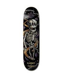 """0 Timber Bound Skeleton Skateboard Deck 8"""" Multicolor ALYXD00198 Element"""