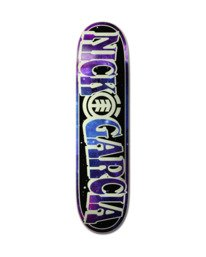 0 Out There Nick Garcia Glow-In-The-Dark Skateboard Deck Multicolor ALYXD00224 Element
