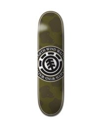 0 Camo Seal Skateboard Deck Multicolor ALYXD00235 Element