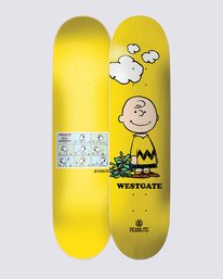 0 Peanuts Charlie x Westgate Skateboard Deck  ALYXW00136 Element