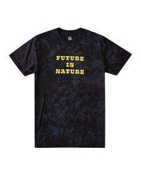 0 Fin Wash T-Shirt Blue ALYZT00102 Element