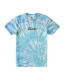0 Thanks Wash T-Shirt Blue ALYZT00103 Element