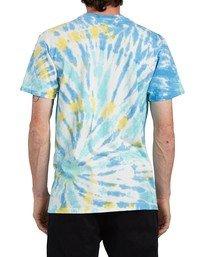 4 Thanks Wash T-Shirt Blue ALYZT00103 Element
