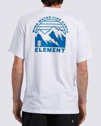 1 Foxwood T-Shirt White ALYZT00110 Element