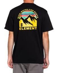 2 Foxwood T-Shirt Blue ALYZT00110 Element