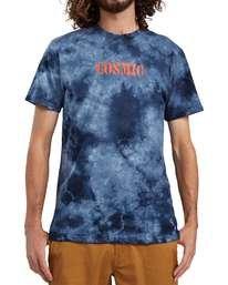4 Strave Wash T-Shirt Blue ALYZT00111 Element