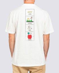 2 Peanuts x Element Page T-Shirt White ALYZT00123 Element