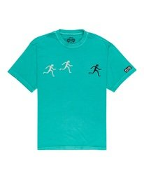0 Summit T-Shirt Green ALYZT00132 Element