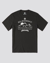 0 Snow Arch T-Shirt Blue ALYZT00145 Element