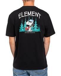 2 Peanuts x Element Good Times T-Shirt Blue ALYZT00164 Element